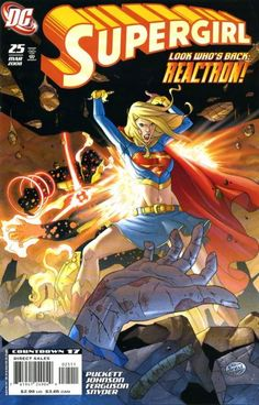 Cover for Supergirl (DC, March 2008) #25