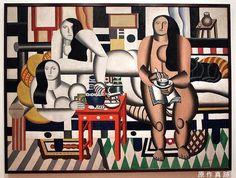 Three Women - Fernand Léger - 1921
