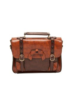 Loyal Heart Handbag in Camel and Brown - New Arrivals - New   Pinup Girl Clothing