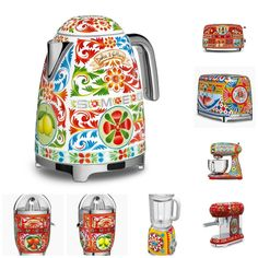 The popularity of this Sicilian inspired retro look keeps growing, and SMEG is responding