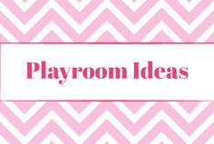 Tons of playroom ideas!