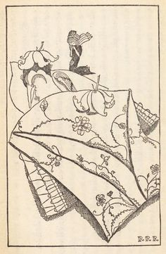 The whole world is a series of miracles. Takeo Takei - Illustrations from a 1928 edition of Andersen's fairy tales.