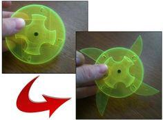 Laser cut ninja star