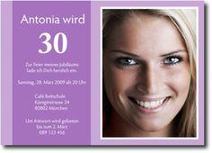 einladungskarten-30-geburtstag-vorlagen-kostenlos, Einladung