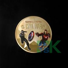 Awesome Marvel Captain America coin