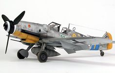 nicely done model of a ME 109