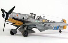 Messerschmitt Bf 109G-6 by Brett Green (Hasegawa 1/32)