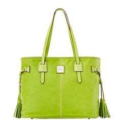 Dooney & Bourke Smooth Leather Davis Shopper, Kiwi - http://handbagscouture.net/brands/dooney-bourke/dooney-bourke-smooth-leather-davis-shopper-kiwi/