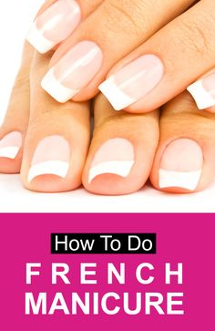How To Do French Manicure #manicure