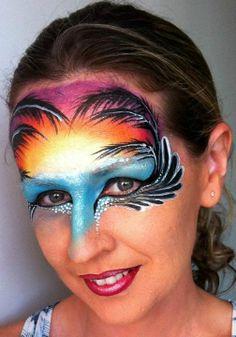 07d2e3d7d 90 Best Face Paint- Tropical Ideas images
