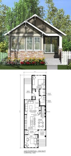 new orleans cottage house planfreegreen | small houses, cabins