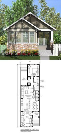 1054 sq. ft, 1 bedroom, 1 den, 1 bath.