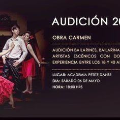#CASTING  Con toda la pasión de la danza española se nos viene Carmen, con la bailarina cubana @yasnaymarin y la cantante lírica @gianinadangelo 👌🏻🎭🎼❤️ en #concepcion #Chile #dance #teatro #teatrochileno #danza #opera #chile #audiciones #audicion #audición #artechileno