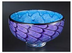 Storm Bowl: Purple & Blue