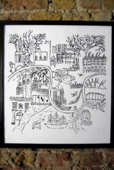 London Kills Me - East Of The River Print