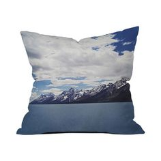 Snowy Peaks Pillow Cover