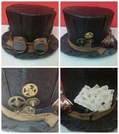 #steampunk #hats #handmade #hobi #atölye #art #design #handwork #art #fun #drawing #modelkit #gunpla #instagood #gundam #diy #rc #passion #artist #followme #like4like #instagram #instalike #hobi #new #cute #craft #toys #photooftheday #steampunkhats
