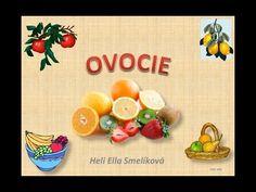 OVOCIE - YouTube Slovak Language, Homeschool, Tableware, Youtube, Audio, Dinnerware, Tablewares, Homeschooling