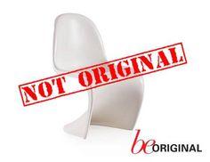 Esta paupérrima copia de la clásica #Panton Chair de #Vitra, no es original. Conoce el verdadero valor del original http://www.zinc.com.uy/beoriginal