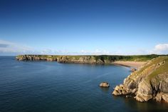 Beaches - The stunning Barafundle bay, near Stackpole in Pembrokeshire. Thanks to Chris Lacey for the snap!
