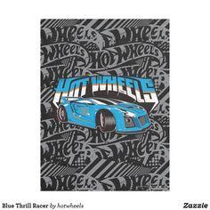 Blue Thrill Racer
