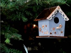Nichoir à oiseau en bois - sur le #CDB - #dremel