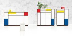 Rimex Mondrian, Bar Chart, Catalog, Fashion Design