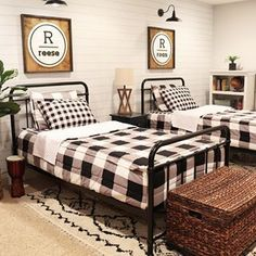 Beddys Beds are the perfect addition to every kids bedroom! Beddys Beds are the perfect addition to every kids bedroom! Farmhouse Style Bedrooms, Farmhouse Bedroom Decor, Modern Farmhouse Decor, Bedroom Country, Farmhouse Style Decorating, Farmhouse Ideas, Country Farmhouse, Shared Boys Rooms, Shared Bedrooms
