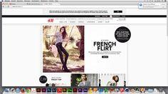 Ik vind dit een mooie website. Deze site is overzichtelijk, er worden neutrale kleuren gebruikt en je kan makkelijk en snel iets vinden.