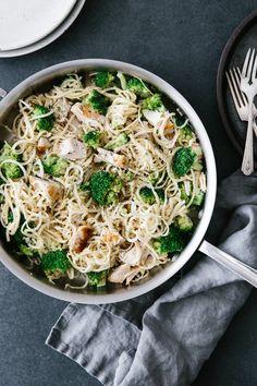 Parsnip Noodle Chicken Alfredo