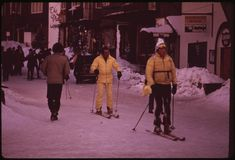 In the early just after the birth of EPA and the environmental movement, the agency initiated Project Documerica to record the state o. Aspen Colorado, Recreational Activities, Vintage Photos, Skiing, Ski, Vintage Photography