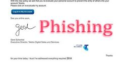 """Telstra """"Re-Evaluate My Account"""" Phishing Scam"""