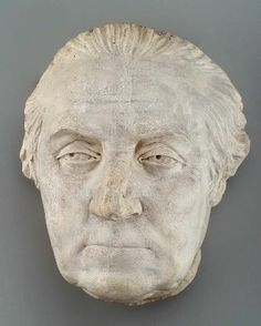 Jean-Antoine Houdin, Life-mask of George Washington. George knew government to be a burden and said so.