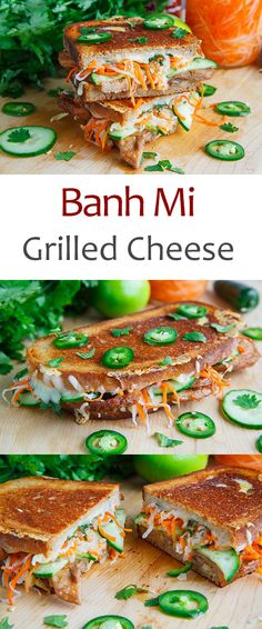 Banh Mi Grilled Cheese
