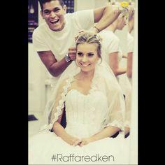 Noiva dos sonhos #cabelos #hair #hairstyle #blond #blondhair #loirodossonhos #redken #tratamento #noiva #bride #fiancee #wedding