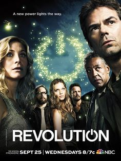 Revolution. Season 2 is amazing.... If only season 3 were coming back!!! So upset it was cancelled.