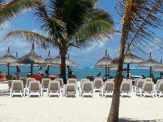 Beach and Ocean view from the Beach Bar @ Friday Attitude Resort Mauritius