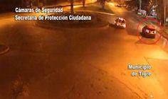 Dramática persecución de un auto detectado por el sistema B.U.S.C.A.D.O.R de Tigre