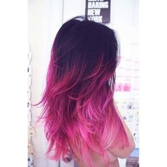 Pink Hair Don't Care ❤ liked on Polyvore featuring beauty products, haircare and hair styling tools