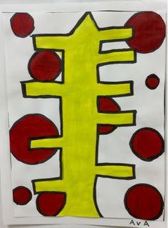 "4th Grade Makes Alexander Calder ""Christmas Tree"""