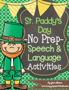 St. Patrick's Day Activities! Repinned by SOS Inc. Resources pinterest.com/sostherapy/.