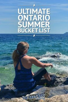 Ontario has more to offer than people realize. Don't miss out on all of the epic adventures in the province with this Ontario summer bucket list! American Express Rewards, Travel Insurance Reviews, Vancouver, Ontario Travel, Ontario Camping, Girls Love Travel, Canadian Travel, Summer Bucket Lists, Travel Guides