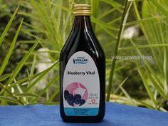 Vivasan Blueberry Vital Getränk zur allgemeinen Stärkung des Organismus und zur Verbesserung der Sehkraft.