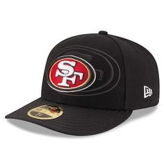 bf8178ad4bd New Era San Francisco 49ers Scarlet 2016 Sideline Official Low Profile  59FIFTY Fitted Hat San Francisco