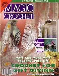 Magic Crochet Nº 93 - claudia - Album Web Picasa Crochet Mat, Crochet Diagram, Crochet Books, Crochet Home, Thread Crochet, Filet Crochet, Tatting Patterns, Doily Patterns, Crochet Patterns