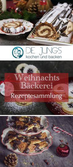 Hier findet ihr unsere Weihnachtsrezepte praktisch gesammelt auf einer Seite! German Desserts, Home Bakery, Christmas Desserts, Christmas Time, Vegan Sweets, No Bake Desserts, No Bake Cake, Food Inspiration, Cake Recipes