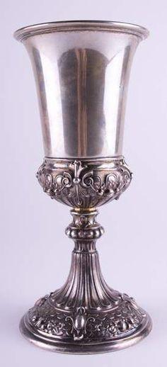 Silber 800 vase