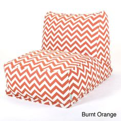 @Overstock - This Retro cool and super fun bean bag is just like you remembered as a kid, only better. The Majestic Home Goods durable Zig Zag Bean Bag Chair Lounger will add style to your living room, family room or game room seating arrangement. http://www.overstock.com/Home-Garden/Zig-Zag-Bean-Bag-Chair-Lounger/7660562/product.html?CID=214117 $133.99