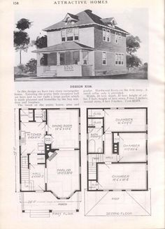 Design K 528 - from Attractive homes by Max L. Keith, Published 1912 192 p. ; ill., plans ; 26 cm. ; trade catalog: