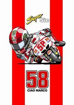 Marco Simoncelli Motorcross Bike, Gp Moto, Motogp Race, Motorcycle Logo, Grand Prix, Car Logos, Valentino Rossi, Bike Art, Ducati